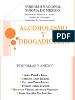 Alcoholismo y Drogadiccion