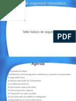 Taller Básico de Seguridad Informática - en pdf