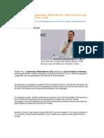 16-06-2015 Puebla Noticias - Este Miércoles, El Gobernador Rafael Moreno Valle Iniciará Su Gira de Trabajo Por Alemania e Italia