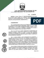 Central Resolución 166 2015 SN