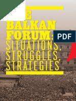 Balkan Forum 2013