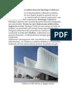 Orasul Traieste in Arhitectura Lui Santiago Calatrava