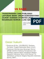 Bag 6 Transparansi Laporan Bank Umum