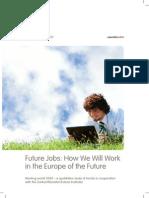 ADECCO Working World 2020 Future Jobs EU 2010
