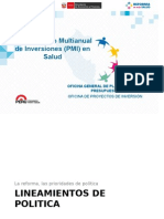 PMI Taller  2015