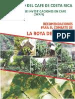 LIBRO Recomendaciones Para El Combate de La Roya Del Cafeto