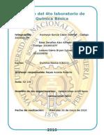 Informe Del 4to Laboratorio de Química Básica (Reparado)