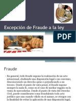 Fraude a la ley en el DIPr