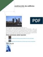 Tipos de Construcción de Edificios