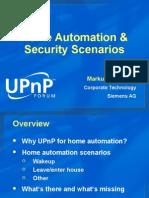Home Automation Scenarios - Markus Wischy.ppt