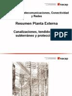 Resumen Planta Externa Canalización.ppt