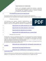 Importaciones de Guatemala