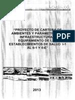 NORMA TÉCNICA DE SALUD INFRAESTRUCTURA Y EQUIPAMIENTO 2015