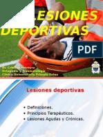 Lesiones deportivas UCC