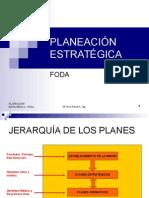 6.- Planificacion Estrategica - FODA