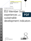 EU member states experiencing with sustainable development indicators