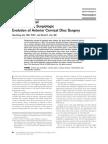 Anterior Cervical Foraminotomy Surgiologic Evolution of Anterior Cervical Disc Surgery