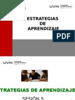 Estrategias Del Aprendizaje SESION 5 17 de JUNIO 2015