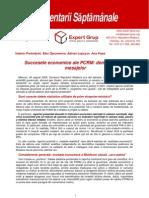 Succesele Economice Ale PCRM Demistificarea Mesajelor