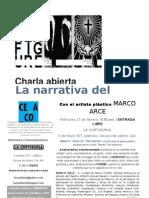 Cartel Marco Arce