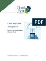 Cloud-Migration-Management Best Practice Imp VVVVV