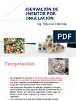 Conservacion de Alimentos Por Congelacion