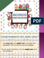 modal to express future