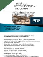 Diseño de Productos,Procesos y Programas