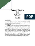 screen sketch 4cyte