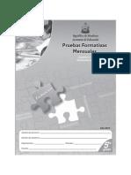 Prueba Formativa 5º ESP y MAT (2010)