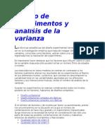 Diseño de experimentos y análisis de la varianza.doc