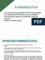 Atención Farmacéutica Primera Clase Unica Abril2015