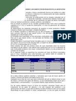 Gases Contaminantes en Argentina