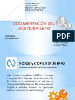 Documentacion Del Mantenimiento