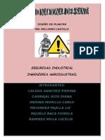 Seguridad Industrial y Su Aplicación en El Diseño de Plantas