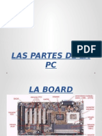 LAS PARTES DE LA PC