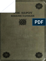 The Sepoy by Edmund Candler