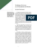 PROBLEMAS PERVERSOS EN EL PENSAMIENTO DEL DISEÑO BUCHANAN