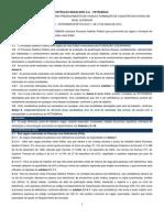 Edital da Petrobrás (Adv. Jr.) - 2015
