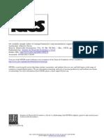 Un Modelo Simple Sobre El Comportamiento Macroeconómico Argentino en El Corto Plazo
