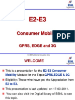 Gprs Edge and 3g