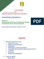 1.1 Presentación Del Curso e Introducción General