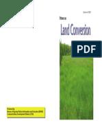 Primer on Land Conversion