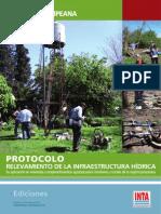 Relevamiento Infraestructura Hidrica IPAF Pampeana INTA
