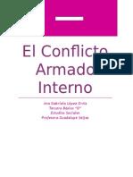 El Conflicto Armado Interno
