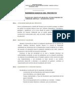 INGENERIA BASICA DEL PROYECTO PUESTO DE SALUD - MAMAC.doc