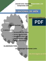 Informe 03 - METODOS