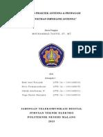 Percobaan 3 Pengukuran Impedansi Antenna.doc