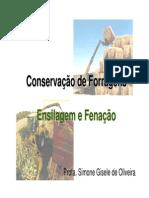 Conservação de Forragens - Ensilagem e Fenacao - UFPR