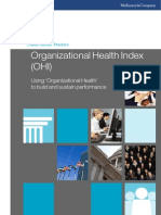 Organizational Health IndexPSP